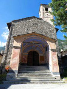 Kapitel 8: Chianale. Kirche San Lorenzo, in der Lauro und Edelfa am 07. August 1558 heiraten wollen ...