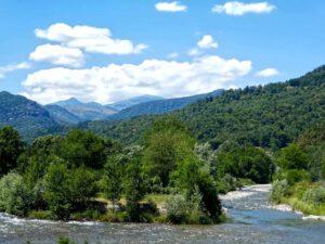 Kapitel 7: Torrente Varaita bei Venasca mit Weitblick ins Valle Varaita