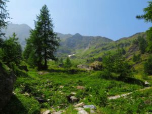 Kapitel 7: Aufstieg ins Valle Antolina zum Versteck der Gefährten