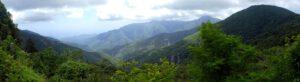 Landschaftseindrücke Romanteil Jahr 933 Sofian geht mit Federica in den piemontesisch-ligurischen Apennin