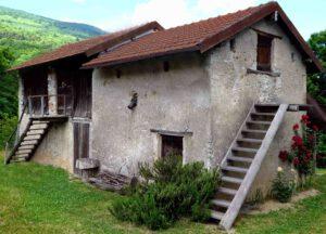 Landschaftsseindrücke Romanteil Jahr 933 Hütte von Sofian und Federica